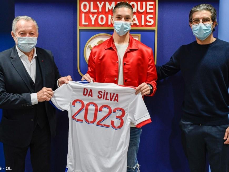 OL : le jeune Florent Da Silva signe pro