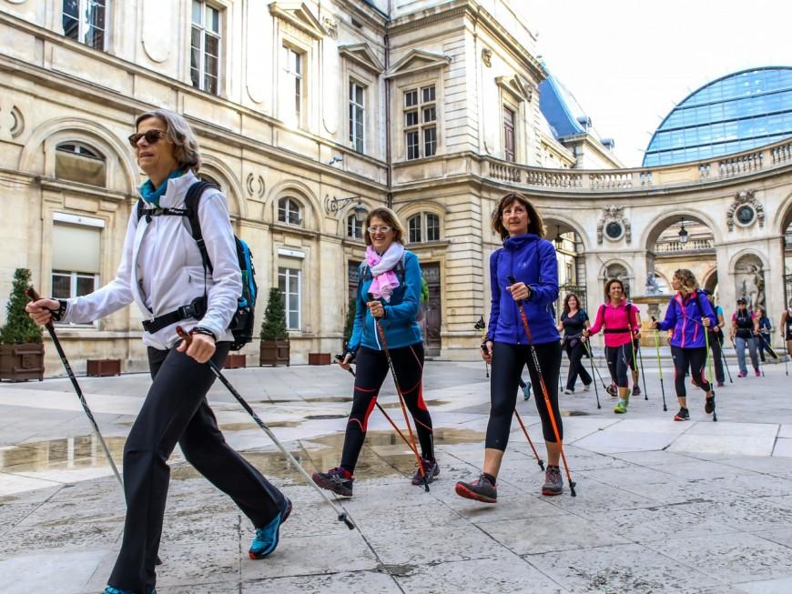 La Nordicwalk : 1800 participants ce dimanche à Lyon