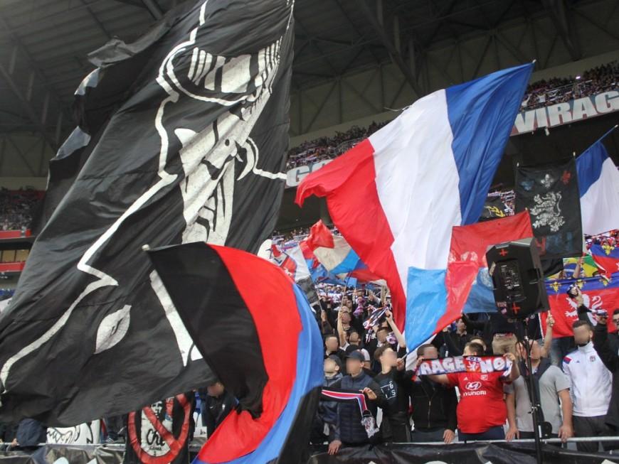 Les supporters de St Etienne interdits de déplacement à Lyon dimanche prochain