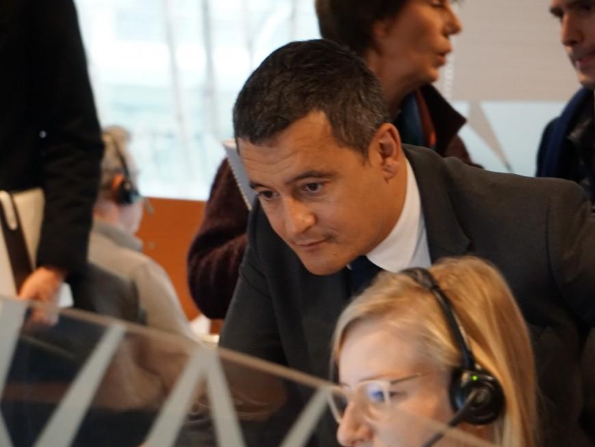 """Gérald Darmanin en déplacement à Lyon : le prélèvement à la source, une réforme fiscale """"réussie"""""""