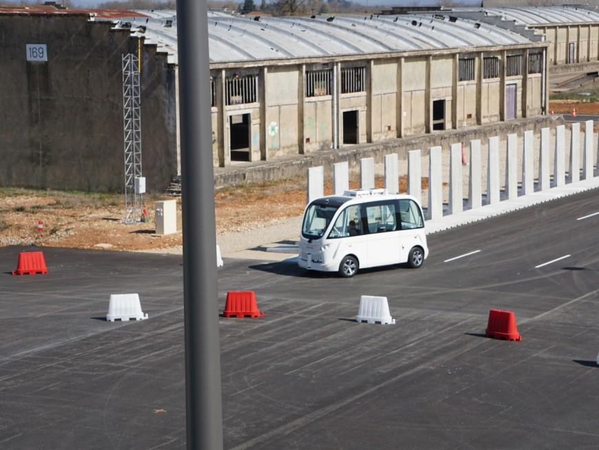Les navettes autonomes du Groupama Stadium seront lancées d'ici cet été