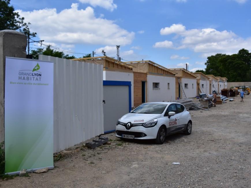 Grand Lyon Habitat construit des habitations pour les gens du voyage