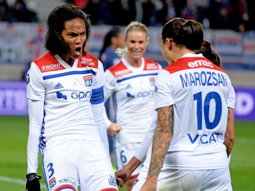 Les Lyonnaises expéditives contre Rodez (4-0)