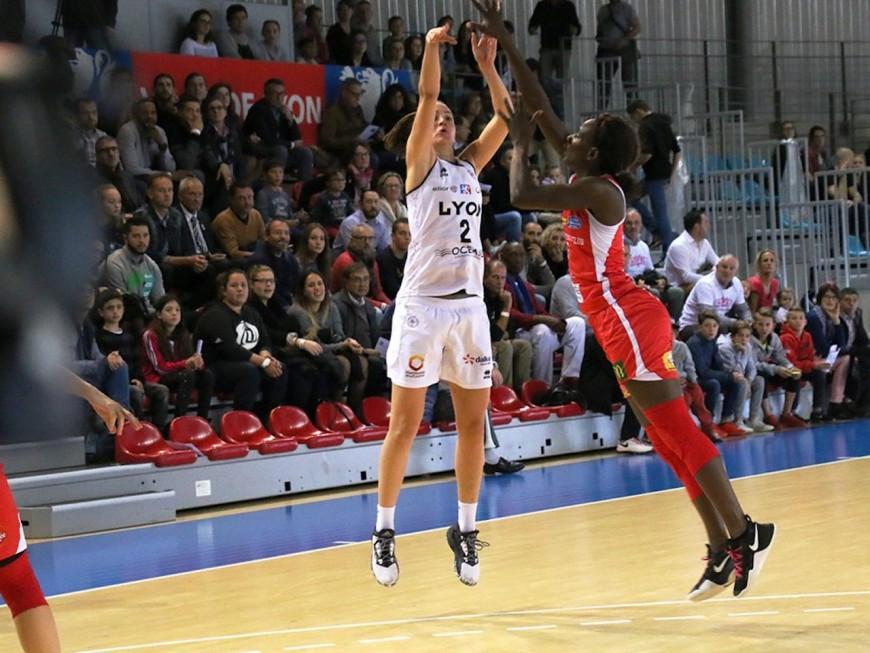 LFB : le Lyon ASVEL Féminin s'accroche à sa 4e place en battant La Roche Vendée (60-84)
