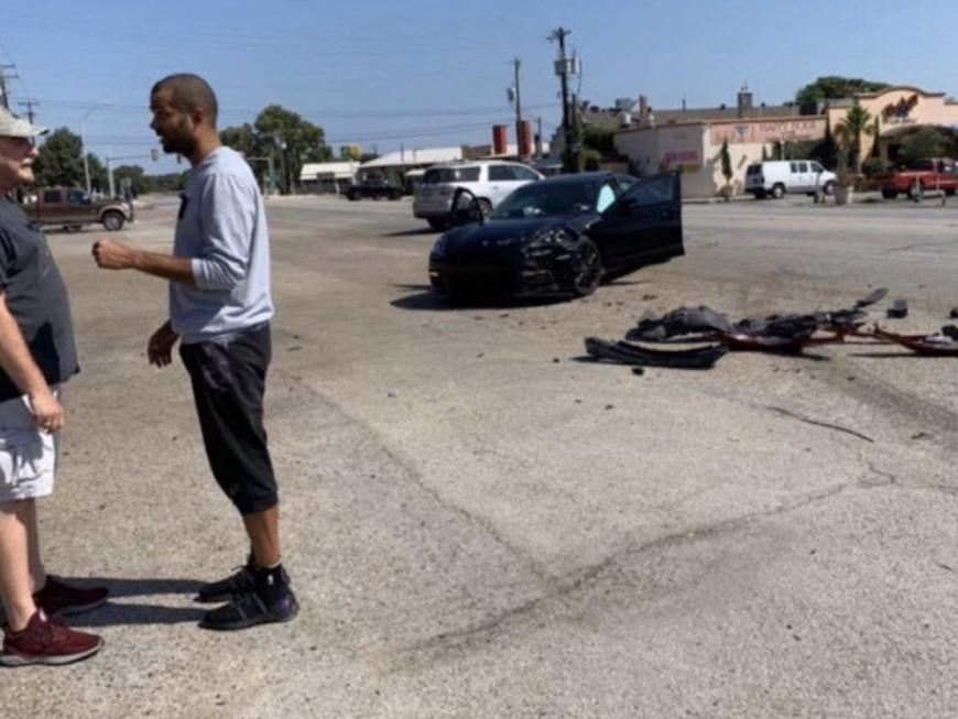 Tony Parker indemne après un accident de la route à San Antonio