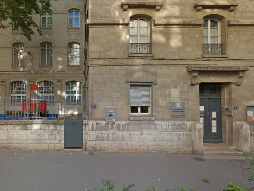 Lyon : l'école Jean-Rostand dégradée durant le week-end