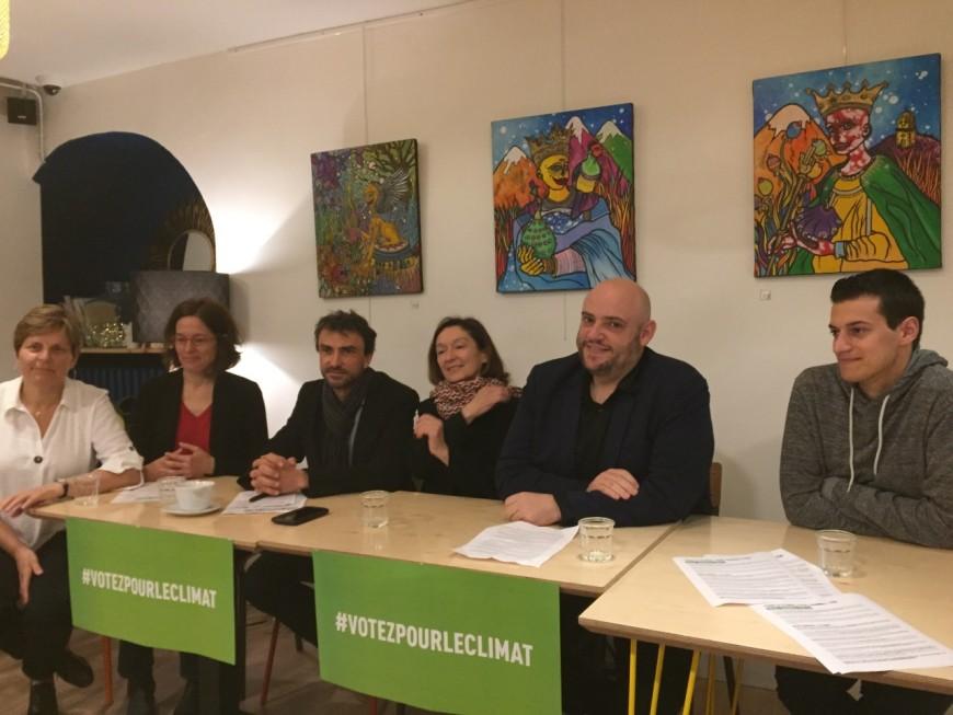 """EELV : à Lyon, """"notre candidat, c'est le climat"""""""