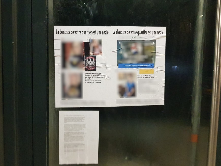Près de Lyon : la dentiste accusée d'être néonazie porte plainte mais supprime son compte Instagram