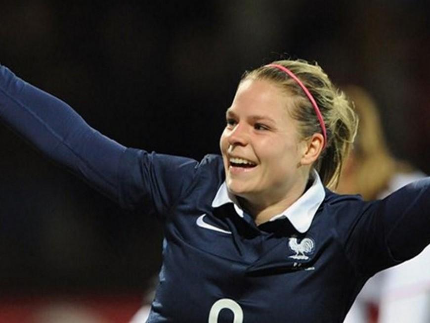 Euro 2017 : Eugénie Le Sommer (OL féminin) libère l'Equipe de France