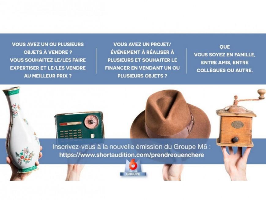 Lyon : M6 à la recherche de candidats pour une nouvelle émission de vente aux enchères