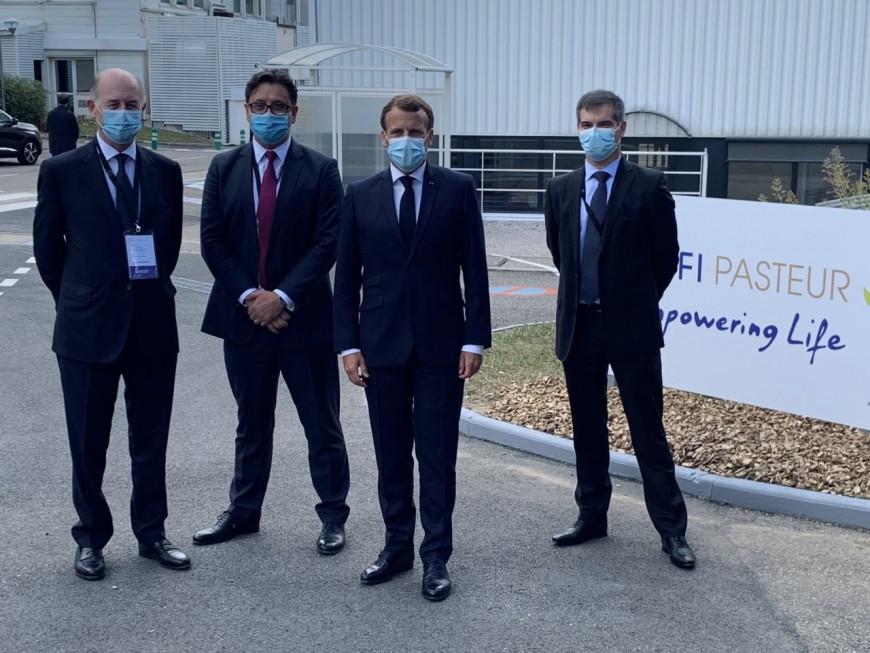 Emmanuel Macron à Sanofi: une nouvelle usine de production de vaccins annoncée dans le Rhône