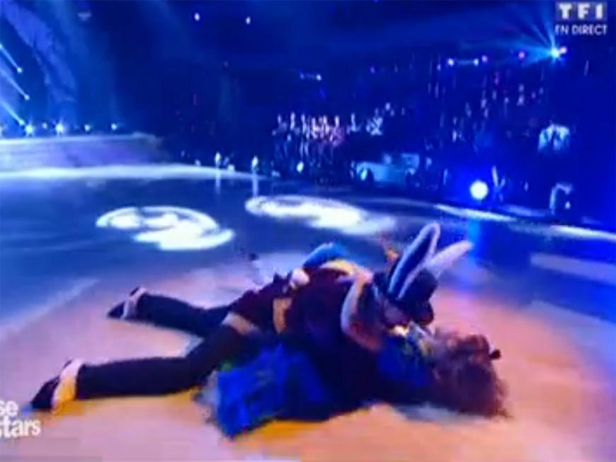 Danse avec les Stars : EnjoyPhoenix qualifiée malgré une lourde chute - VIDEO