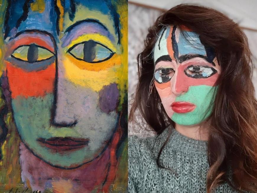 Lemusée des Beaux-Arts de Lyon propose d'imiter ses oeuvres à domicile