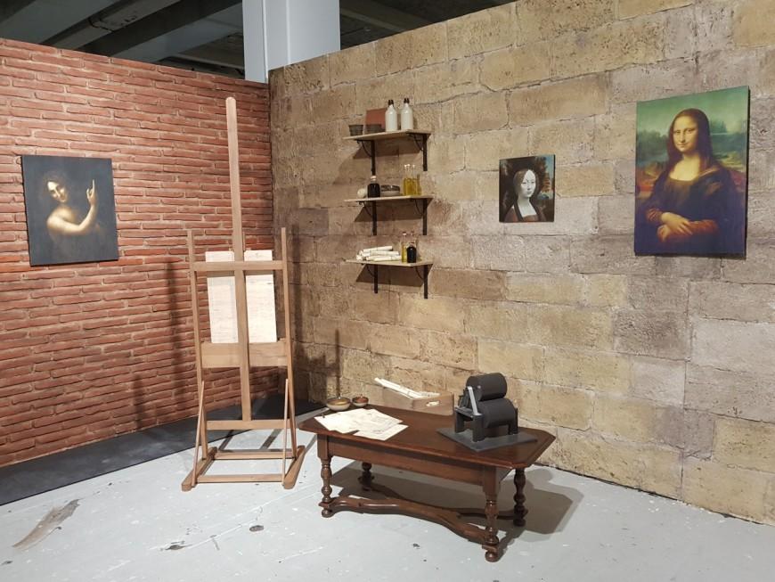 Léonard de Vinci et ses inventions débarquent à Lyon !