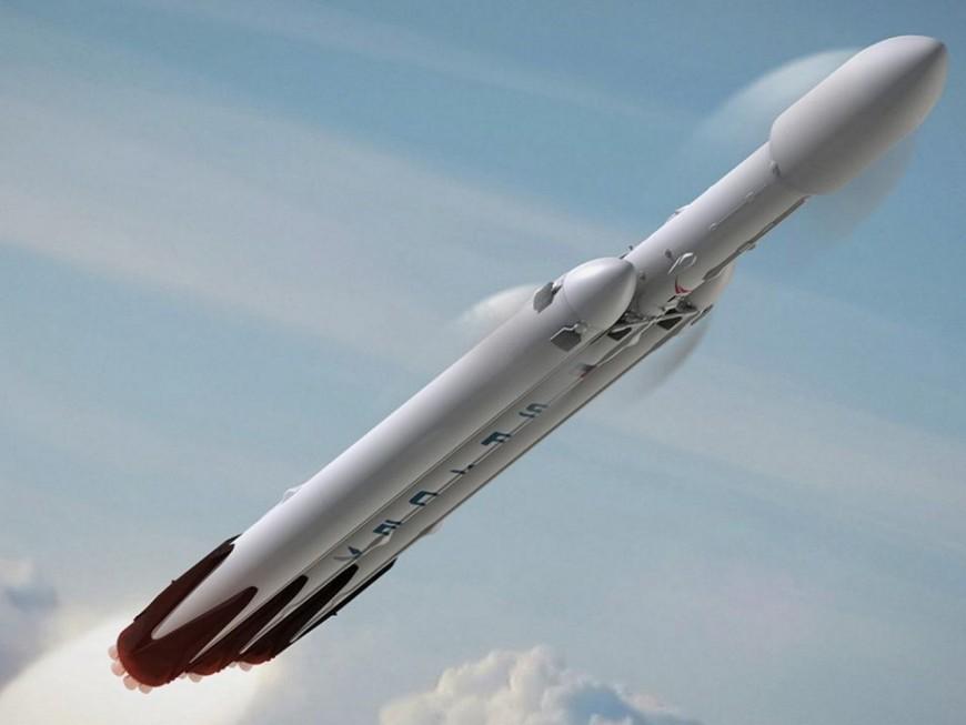 Falcon Heavy de SpaceX : un Lyonnais en Floride pour le tir de la nouvelle fusée