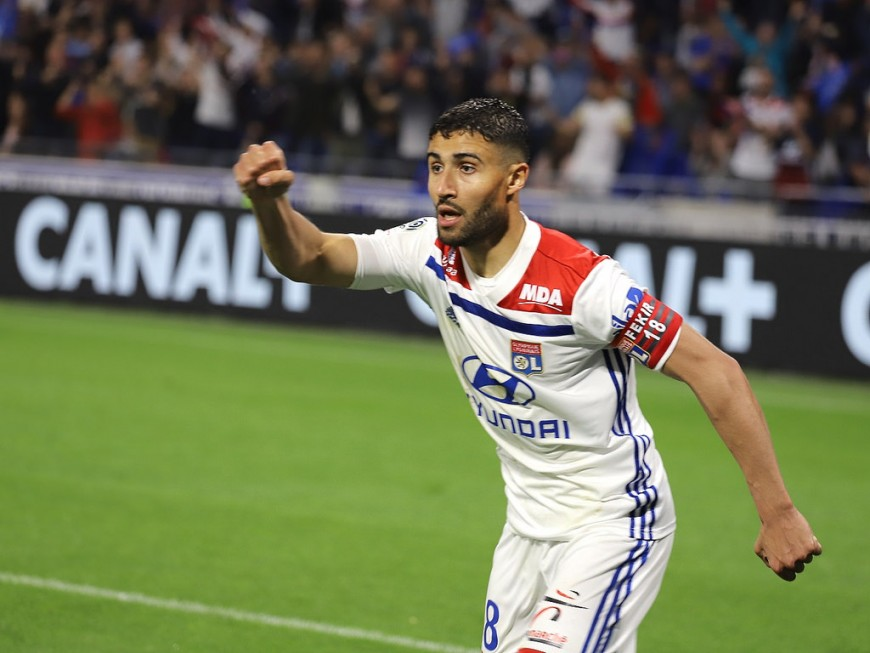 Nabil Fekir (OL) appelé en Bleu par Didier Deschamps pour le retour des champions du monde