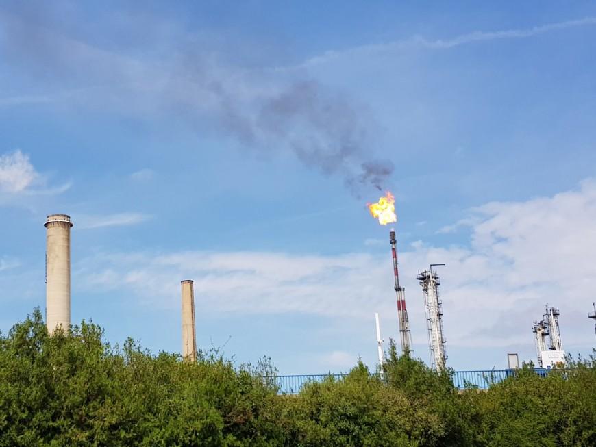 La torche de Feyzin activée ce mercredi après-midi