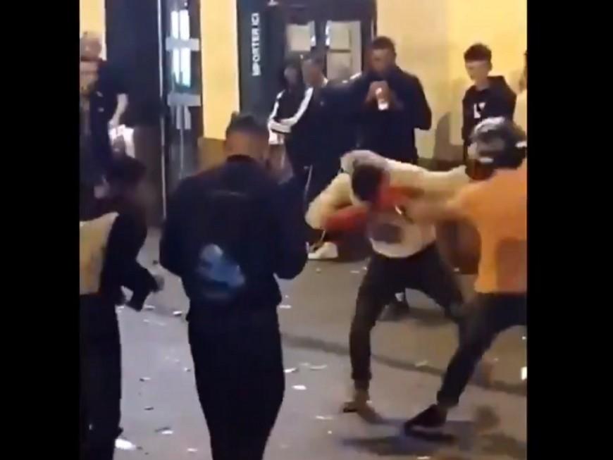 Des fight clubs dans les rues de Lyon - VIDEO