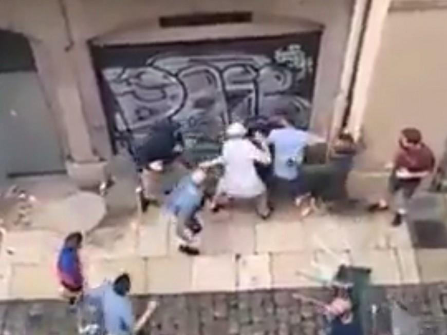 Euro 2016 : bagarres entre supporters lyonnais et anglais dans le Vieux-Lyon (vidéo)