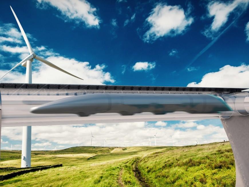 L'Hyperloop permettrait de relier Lyon à Saint-Etienne en seulement 8 minutes