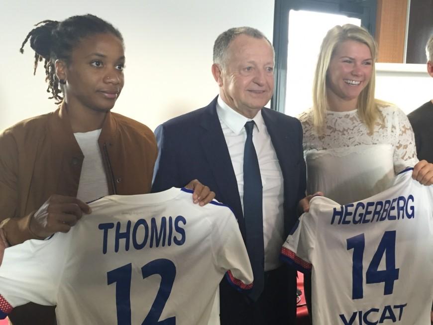 Thomis et Hegerberg prolongent avec l'OL féminin
