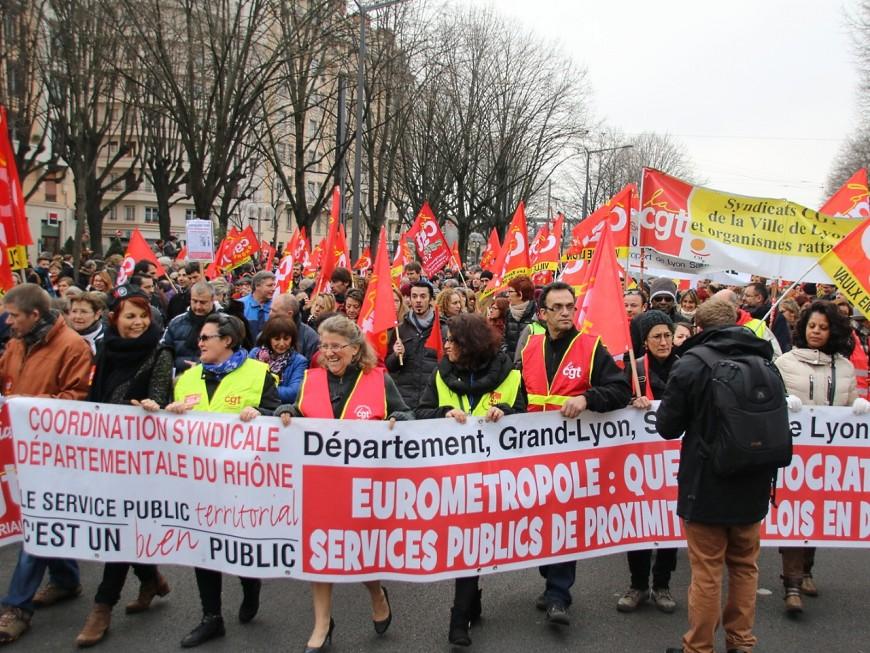 La fonction publique descend dans la rue ce mardi à Lyon