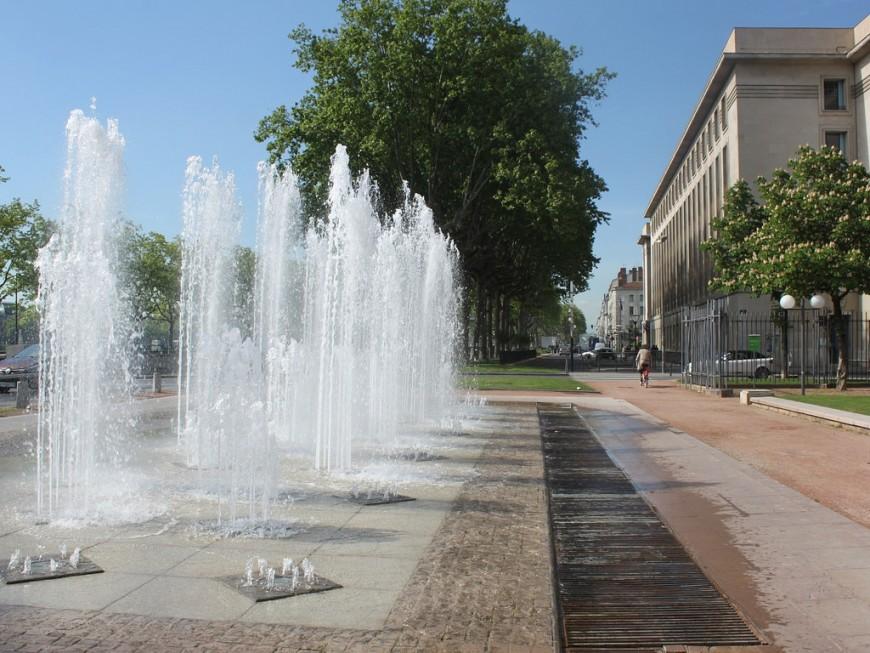 Lyon : les fontaines du jardin des Chartreux à nouveau coupées