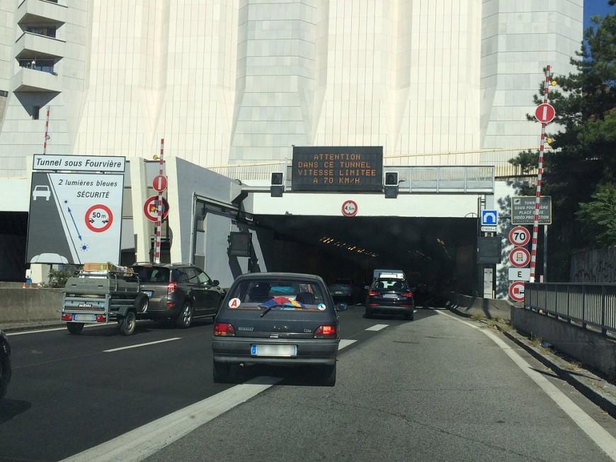 Lyon : le tunnel sous Fourvière bloqué en direction de Marseille