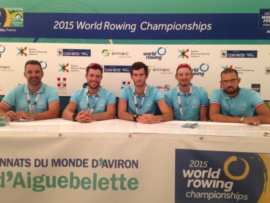 Championnats du monde d'aviron : le Lyonnais Franck Solforosi en finale