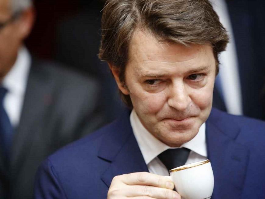 François Baroin en déplacement dans l'agglomération lyonnaise ce mardi