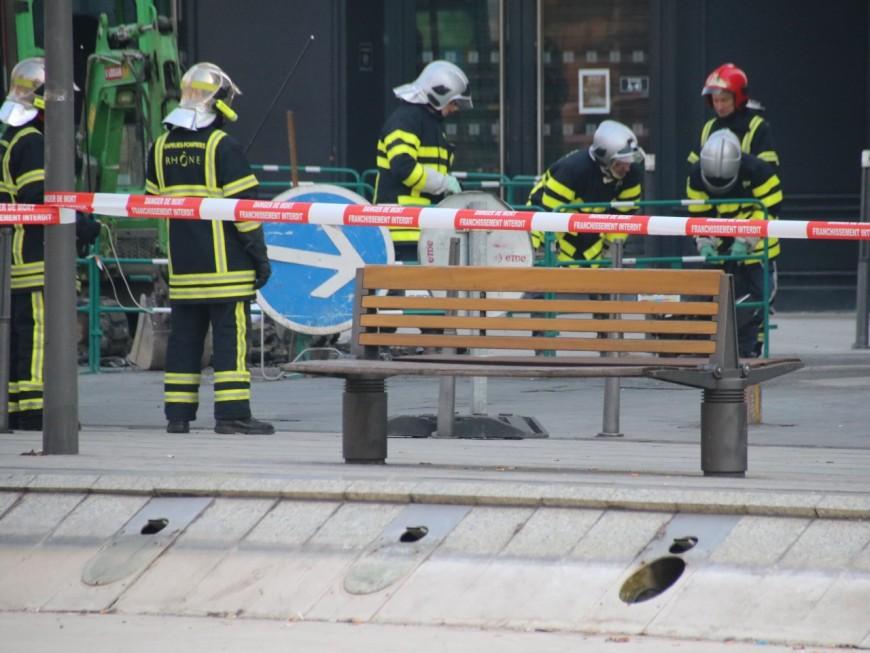 Une fuite de gaz rue Édouard Herriot ce lundi matin