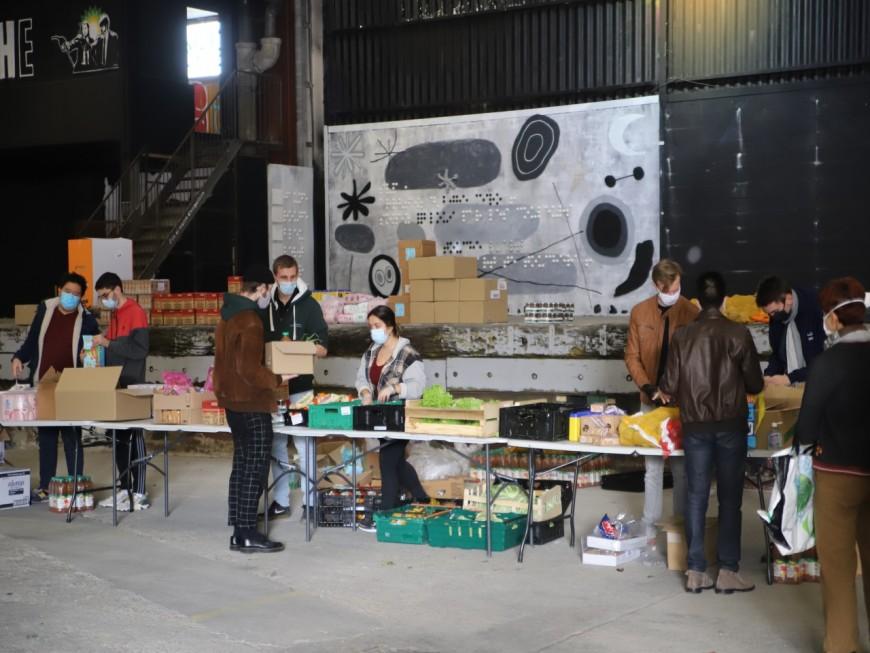 Lyon : 600 paniers de première nécessité distribués aux étudiants ce vendredi