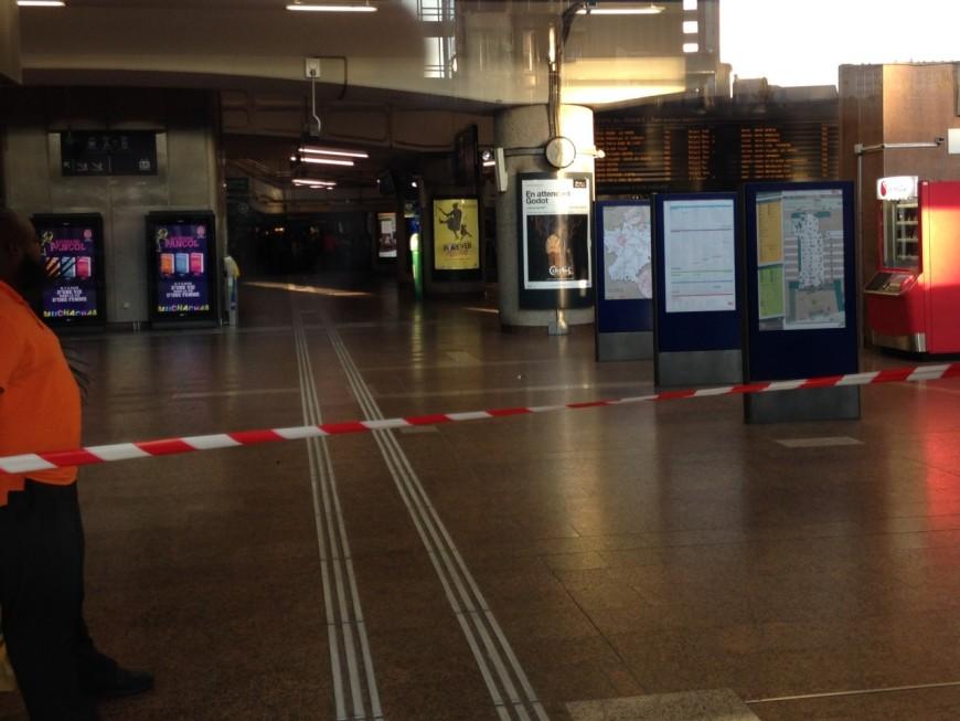 La gare Part-Dieu évacuée ce mardi après une alerte au colis suspect