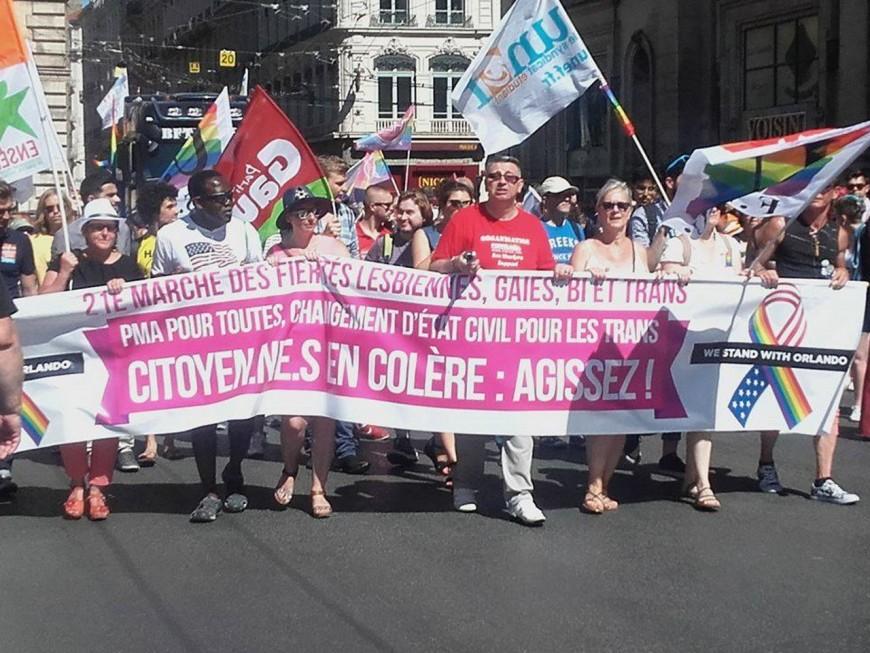 15 000 personnes à la Gay Pride de Lyon ce samedi