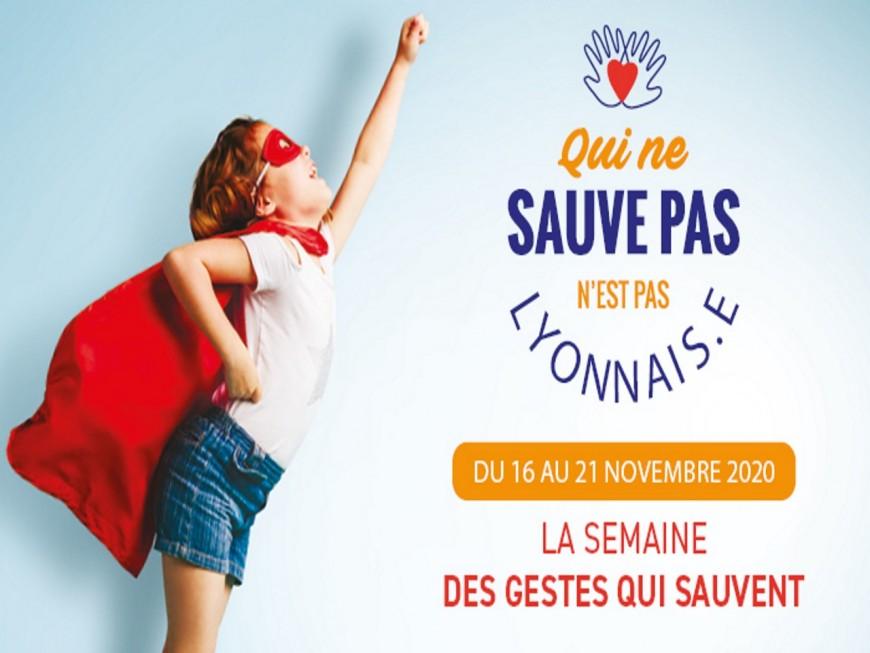 Lyon : une semaine des gestes qui sauvent… en ligne