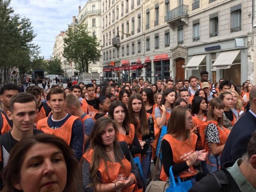 Lyon : plutôt que le bizutage, ils collectent des fonds pour les mal-logés