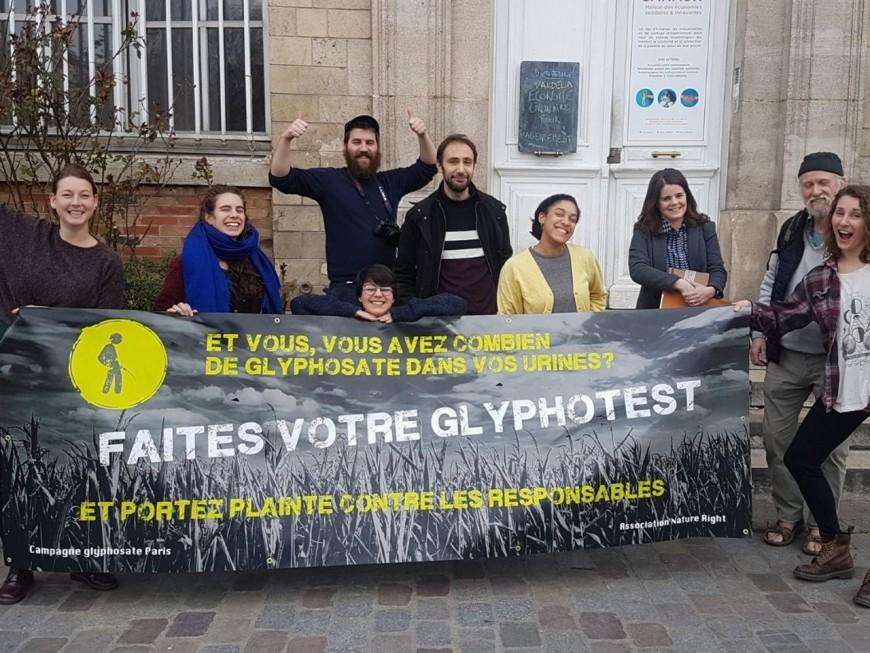 Lyon : premiers prélèvements d'urine pour le glyphosate