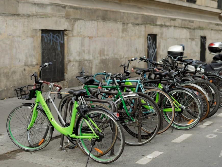 Concurrent du Vélo'v, le Gobee.bike débarque à Lyon