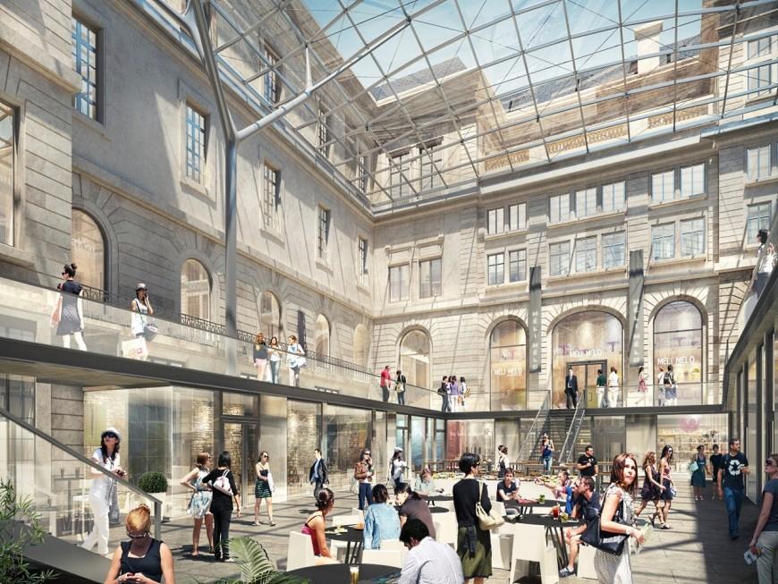 L'ouverture des commerces du Grand Hôtel-Dieu de Lyon repoussée au printemps 2018
