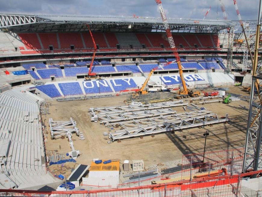 Un concert après Lyon-Troyes pour l'inauguration du Grand Stade de l'OL