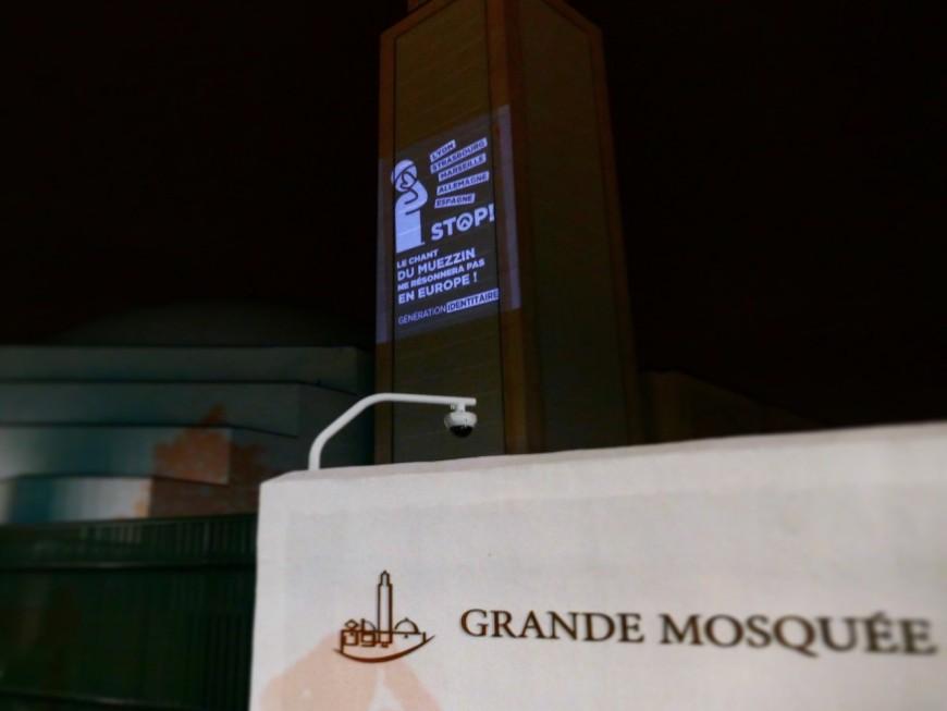 La Grande Mosquée de Lyon prise pour cible par les identitaires