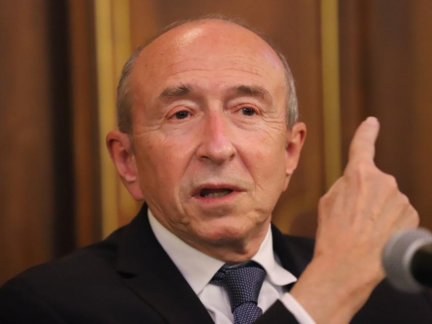 """Fête des Lumières : Collomb lance un appel """"à l'apaisement"""" aux gilets jaunes"""