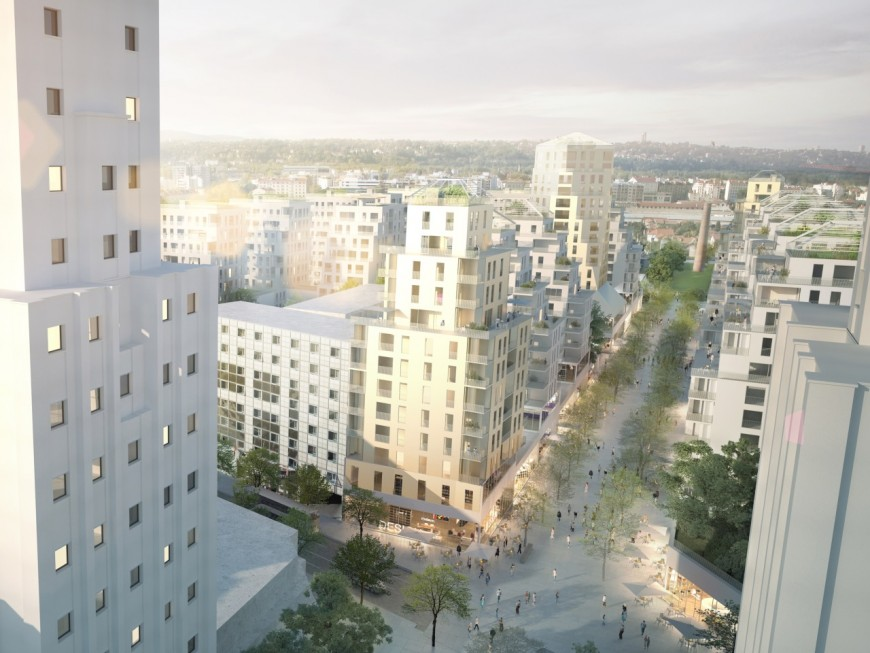 Villeurbanne veut doubler la superficie de son centre-ville pour 2025