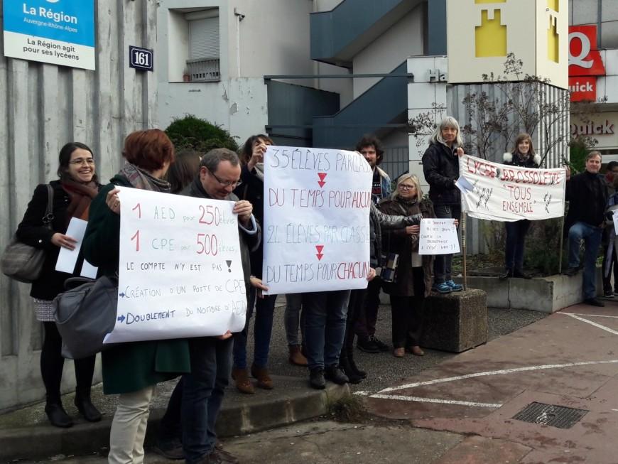 Villeurbanne : les profs du lycée Brossolette en grève ce jeudi