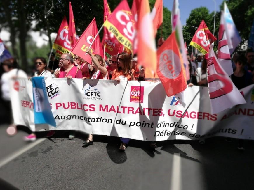 Grève dans la fonction publique : mobilisation en baisse à Lyon