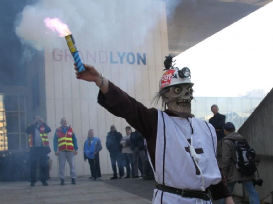 Nouvelle mobilisation des agents de la Métropole de Lyon ce mardi