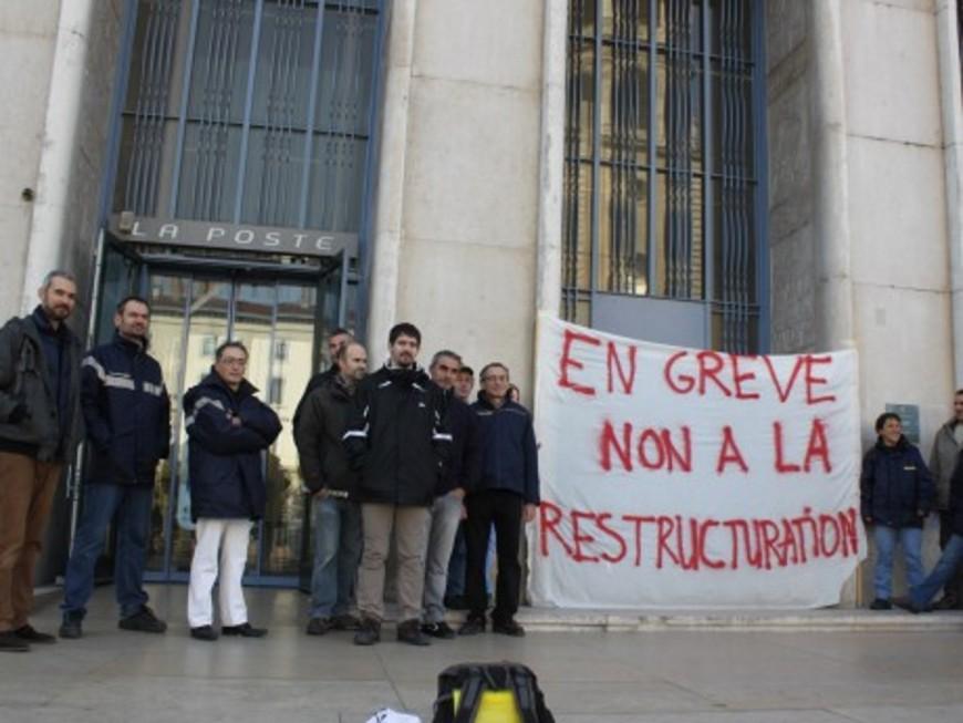 La poste de Belleville-sur-Saône touchée par une grève reconductible