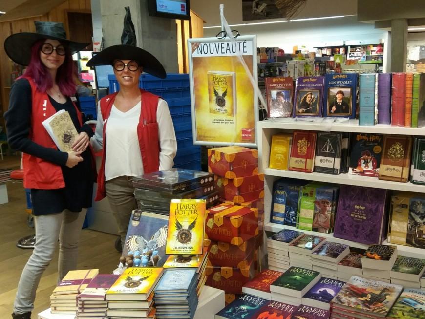 Les librairies lyonnaises se préparent à l'arrivée du dernier Harry Potter !