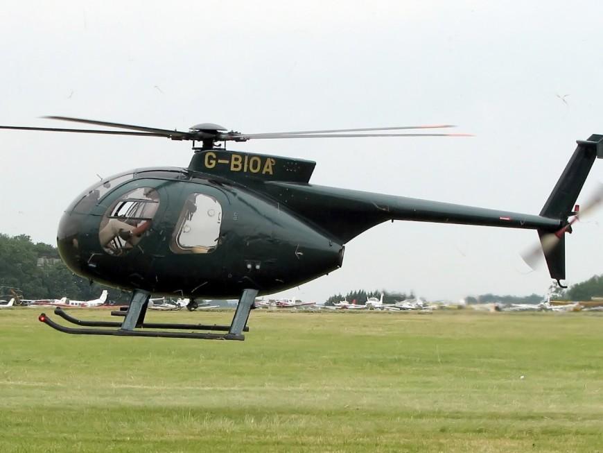 Deux hélicoptères vont survoler Dardilly à très basse altitude