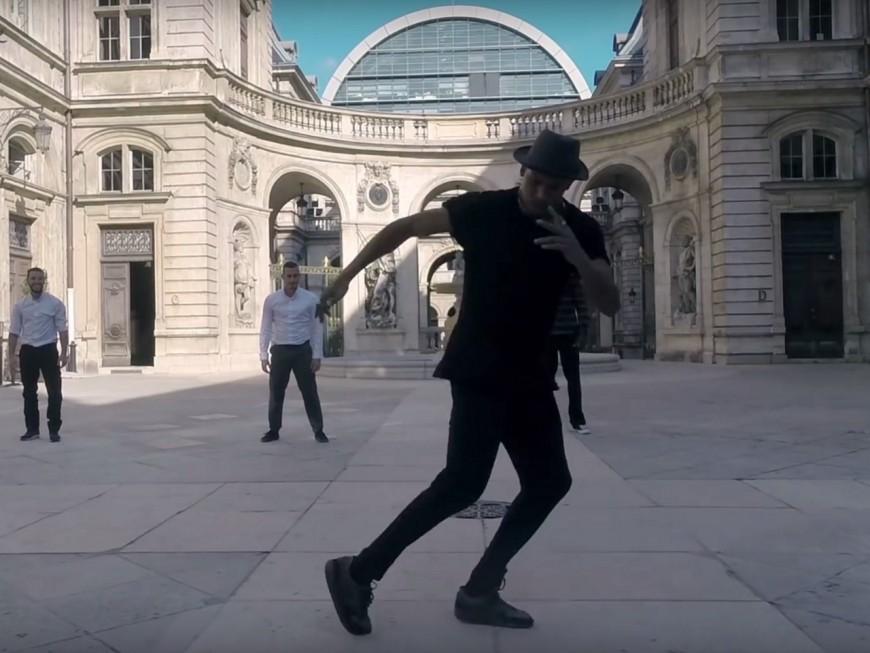 Lyon version hip-hop vue du ciel